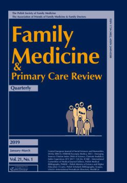 Zeszyt 1/19 Family Medicine & Primary Care Review