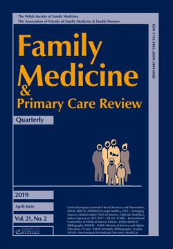 Zeszyt 2/19 Family Medicine & Primary Care Review