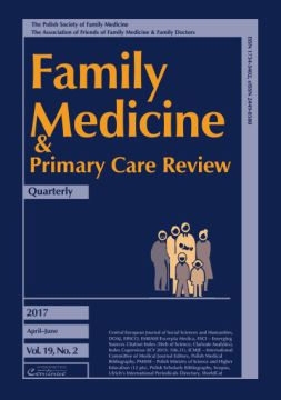 Zeszyt 2/2017 Family Medicine & Primary Care Review