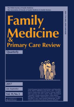 Zeszyt 3/2017 Family Medicine & Primary Care Review