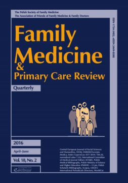 Zeszyt 2/2016 Family Medicine & Primary Care Review