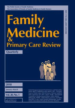 Zeszyt 1/18 Family Medicine & Primary Care Review