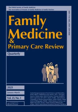 Zeszyt 1/21 Family Medicine & Primary Care Review